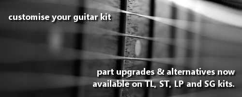 customise your guitar kit