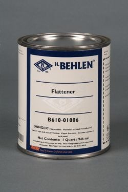 Behlen Nitrocellulose Lacquer Flattener