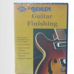 Behlen Guitar Finishing DVD
