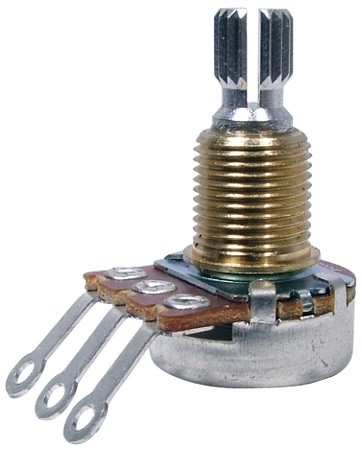 Bourns Mini Potentiometer - 250K Audio Knurled Shaft Imperial