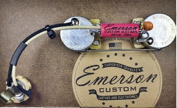 Precision Bass Pre-Wired Assembly - Emerson USA