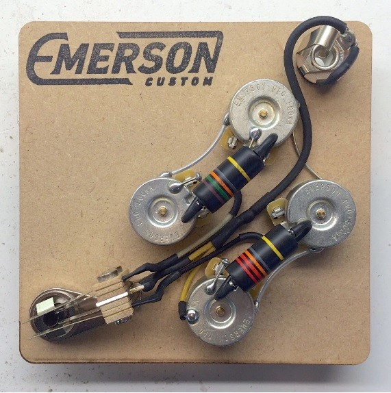 Gibson SG Pre-Wired Assembly - Emerson USA