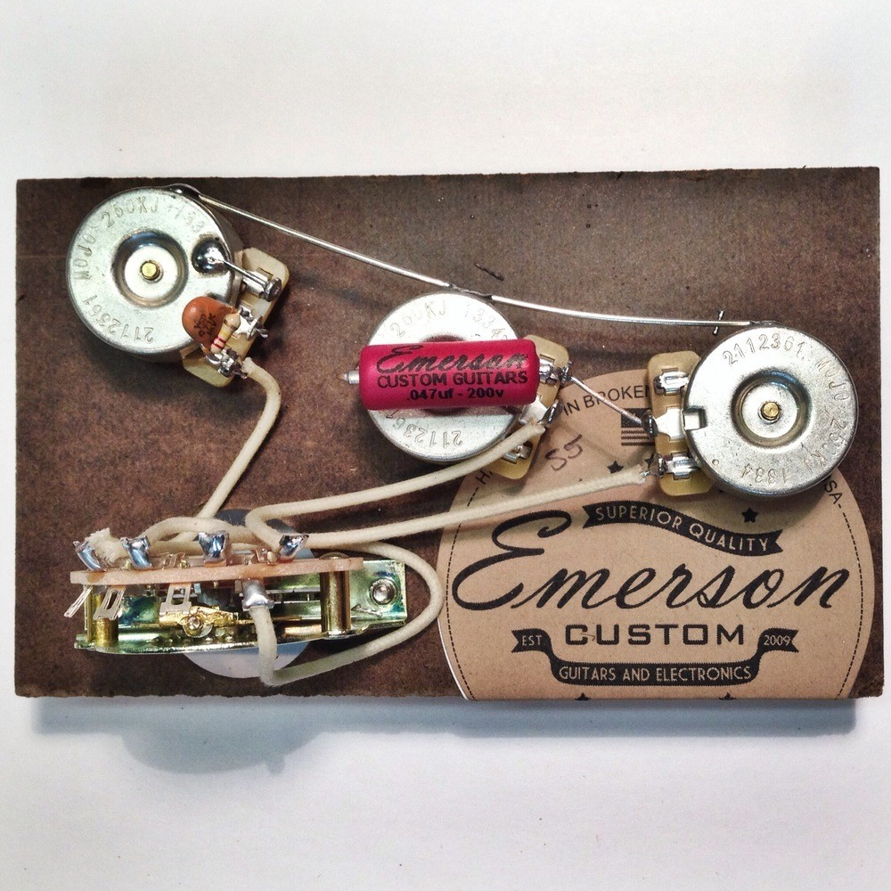 Strat Pre-Wired Assembly - Emerson USA