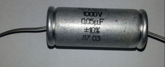 Capacitor Metalised Paper 0.05uF