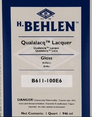 Behlen Qualalacq Lacquer - Gloss (Nitro) GAL