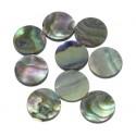 Fingerboard Dots - Green Abalone