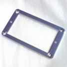 Humbucker Rear Mounting Ring (Flat), Metal - Chrome