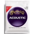 Martin Phosphor Bronze Acoustic Guitar Strings - Light