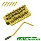 Gold Wilkinson WV6 Tremolo